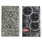 Clips Clock and Slimi Design Notebook Pack of 2