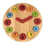 Pin Toys Teaching Clock Educational Game