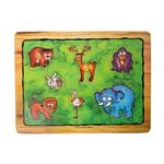 Babakan Friendly jungle 7Pcs puzzle