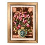 تابلو فرش گالری سی پرشیا طرح گل ورسای کد 901178