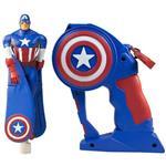 عروسک پرنده فلاييينگ هيرو مدل Captain America ارتفاع 15.5 سانتي متر