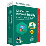 Kaspersky Internet security Multi Device 2017 1+1 Users 1 Year Security Software