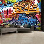 کاغذ دیواری 1وال مدل Graffiti-001