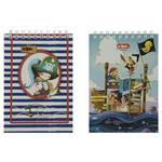 Clips Pirates Design Notebook Pack of 2