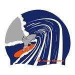 کلاه شنای آکوا اسفیر مدل Surf Shark