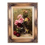 تابلو فرش گالری سی پرشیا طرح گل های رز در تنگ کد 901186