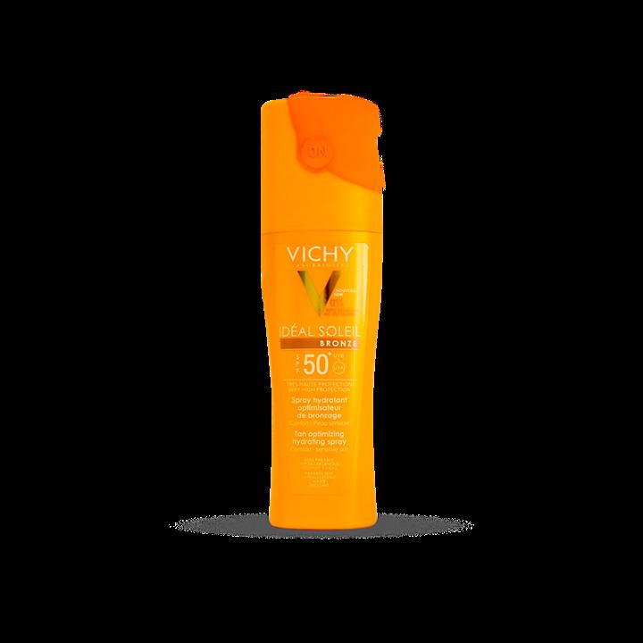اسپری برنزهکننده +SPF50 ویشی مناسب انواع پوست 200 میلیلیتر