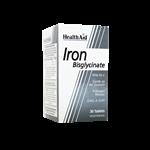 قرص آیرون بیس گلیسینات (آهن با ویتامین ث) هلث اید 30 عددی