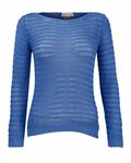 بلوز بافت زنانه آبی BERSHKA