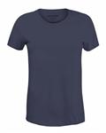 تی شرت یقه گرد زنانه سرمه ای Giordano