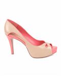 کفش پاشنه بلند زنانه نسکافهای NINE WEST