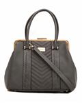 کیف دستی زنانه خاکستری David Jones