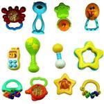 مجموعه 12 عددی جغجغه چیرس کیدز مدل Baby  Toys