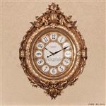 ساعت دیواری سلطنتی طرح دایانا طلایی