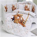سرویس روتختی نوزاد طرح خرس