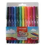 ماژیک رنگ آمیزی 12 رنگ پیکاسو مدل Fine TIP