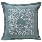 کاور کوسن مان مدل Embroidery Velvet