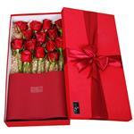 Mita Red Rose Flower Box