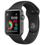 Apple Watch Series 1 Space Gray Aluminum Case with Black Sport Band 42mm