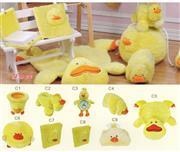 ست پولیشی سیسمونی و اتاق کودک مدل اردک Duck