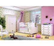 سرویس تخت و کمد نوزاد نوجوان مدل دیبا