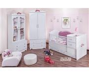 سرویس تخت و کمد نوزاد نوجوان مدل آلاله