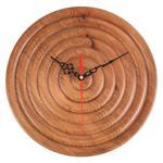 ساعت چوبی عتسا طرح مدور کد 168007