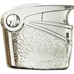 Nobilis Engraving Short Silver 6575 Lighter