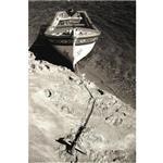 فرش ماشینی پیر گاردیین طرح قایق کد 2806B