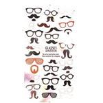 استیکر فانتزی کره ای مدل عینک و سیبیل latech