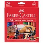 مداد رنگی  FaberCastell  مدل جعبه مقوایی کلاسیک115858