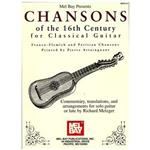 کتاب Chansons Of 16th Century For Classical Guitar  اثر ريچارد متزگر