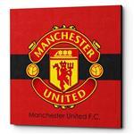 تابلو شاسی لومانا مدل Manchester United CA005 سایز 20×20