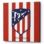 تابلو شاسی لومانا مدل Atletico Madrid CA010 سایز 20×20