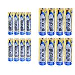 Maxell Alkaline AA and AAA Battery Pack of 16