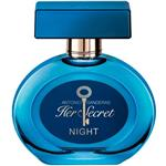 Antonio Banderas Her Secret Night Eau De Toilette For Women 80ml