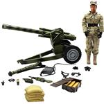 M and C Military Vehicle With Military Figure 90053 Action Figure