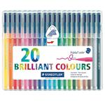 Staedtler Triplus Brilliant Colours 20 Color Marker