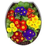 استیکر ژیوار طرح گل های رنگارنگ