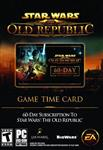 Star Wars: The Old Republic (SWTOR) 60 day Time Card