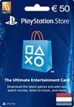 گیفت کارت PlayStation 50 Euro Netherlands