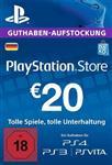 گیفت کارت PlayStation 20 Euro German