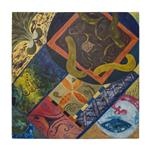 تابلو نقاشی گالری مهسا طرح اسلیمی کد A17