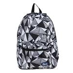 Quilo Triangle Design Backpack