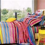 سرویس خواب کارینا مدل Multicolor دو نفره 6 تکه
