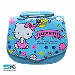 Hello Kitty Girly Bag-1177 Model-Blue