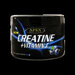 پودر عضله سازی کراتین + ویتامین C اپکس با طعم بلوبری 400 گرم
