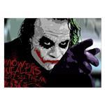 تابلو شاسی ونسونی طرح Joker Mention سایز 50 × 70