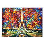 تابلو شاسی ونسونی طرح Paris Of My Dreams سایز 50 × 70