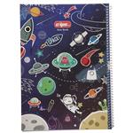 Clips Space Design Painting Notebook